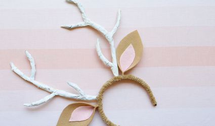 diy deer ears headband