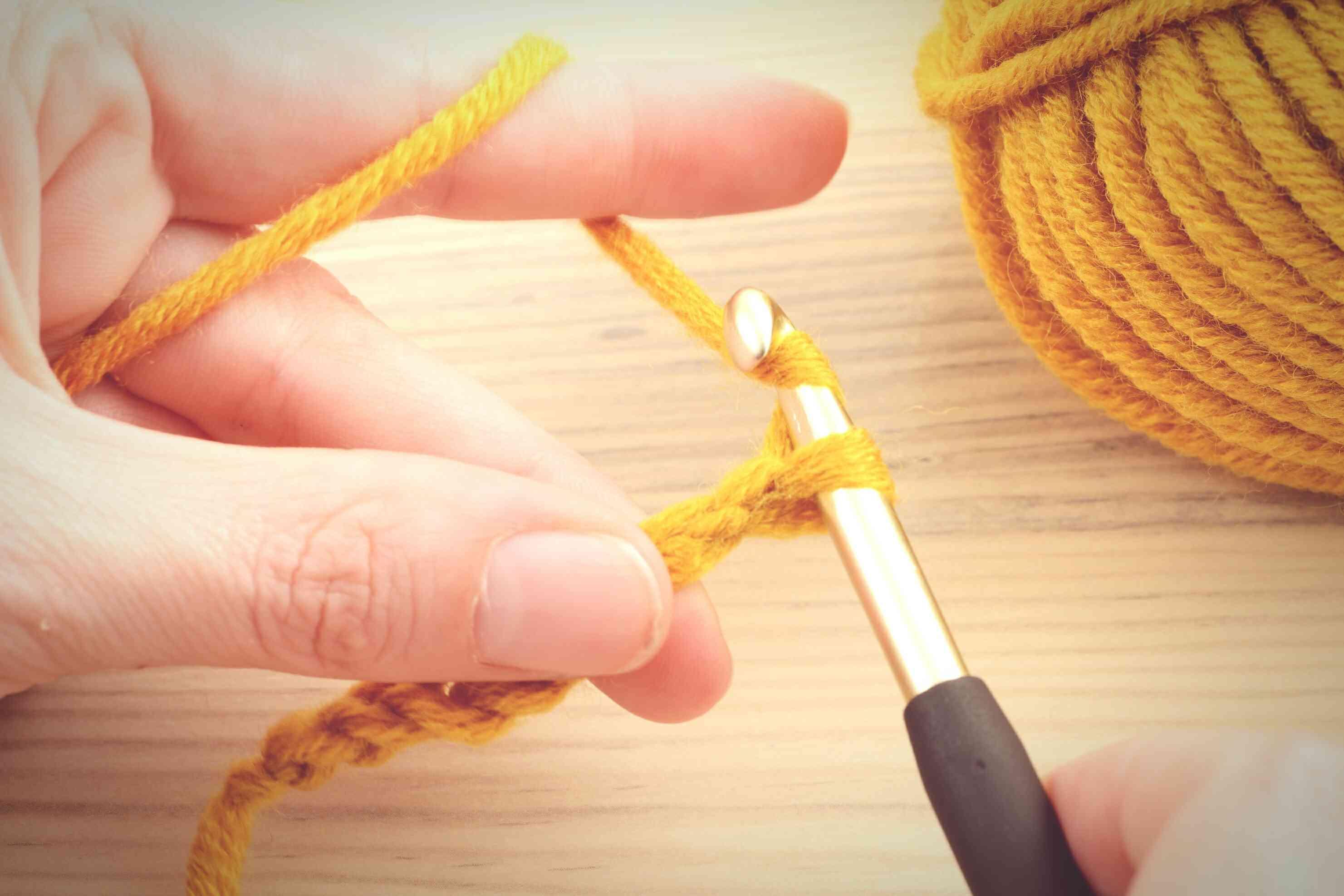 Yarn Over in Crochet
