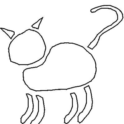 Free Cat Stencils Collection