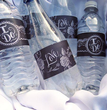 Sets Of Free Printable Water Bottle Labels - Bachelorette water bottle label template