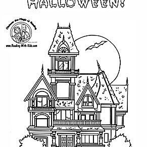 reading with kids halloween coloring pages 579bdb213df78c e5ddf