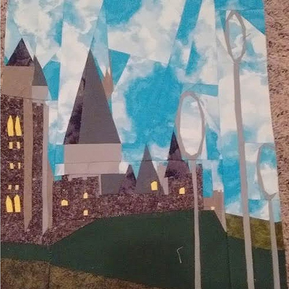 Hogwarts Castle Quilt
