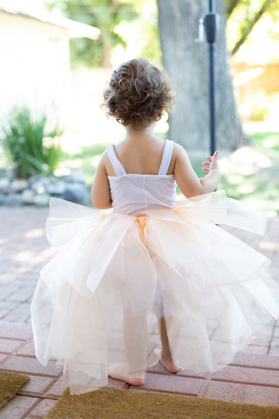 An adorable DIY tutu is perfect for playtime and beyond.