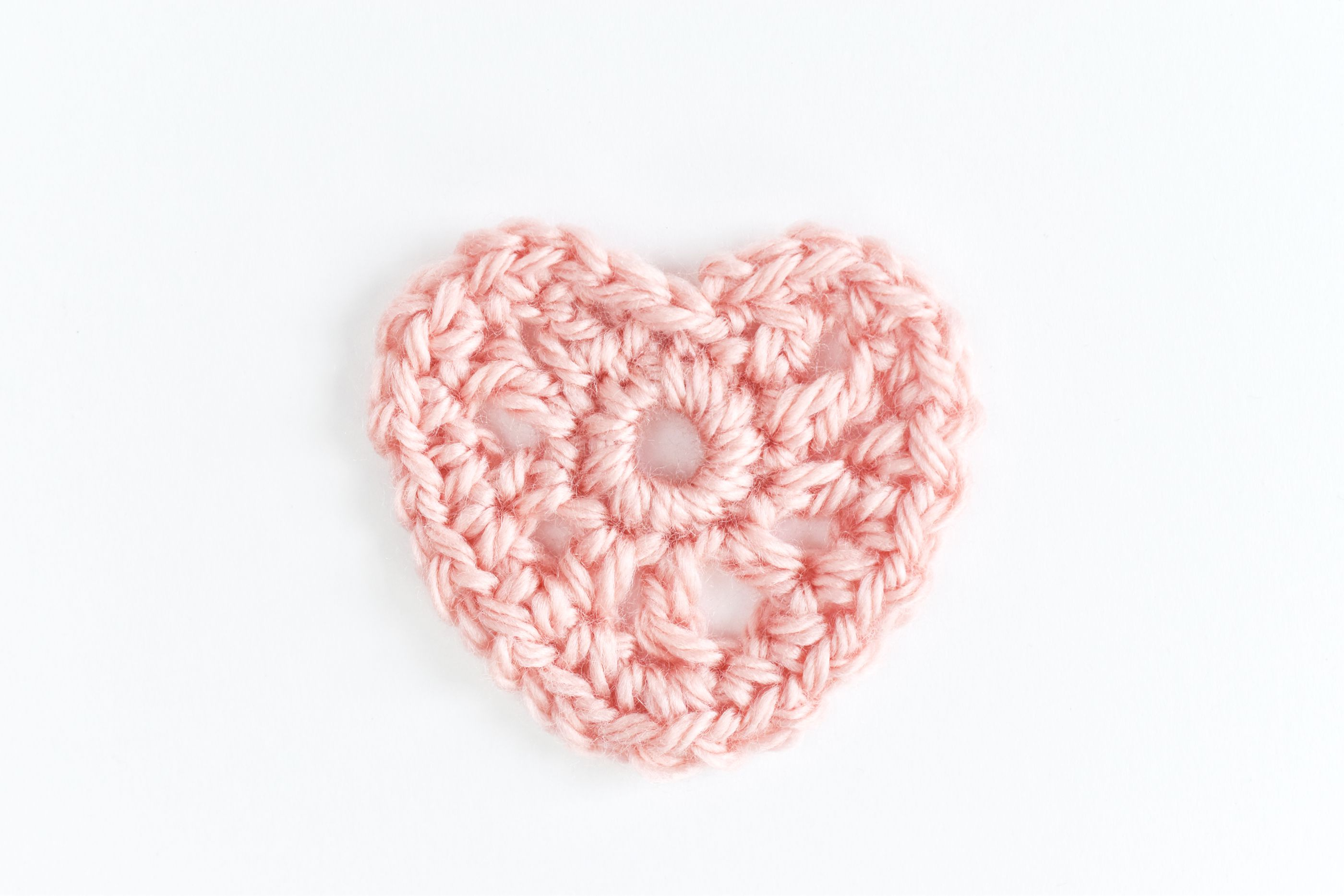 How to Crochet a Lovely Heart