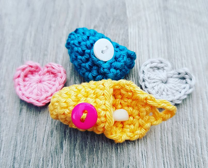 Crochet Tooth Fairy Pouch Free Pattern