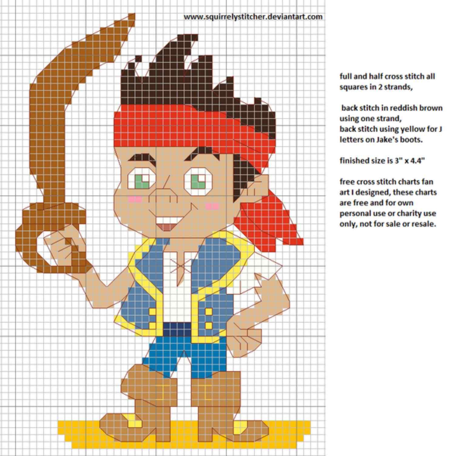 10 Disney Inspired Cross Stitch Patterns