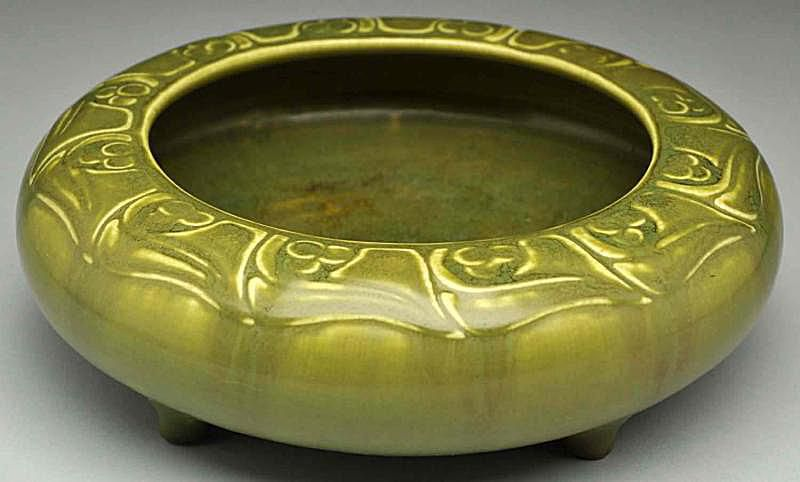 Rookwood Production Pottery Footed Bowl