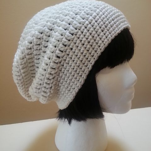 f95f55a0df7 Easy Crochet Slouch Hat Free Pattern