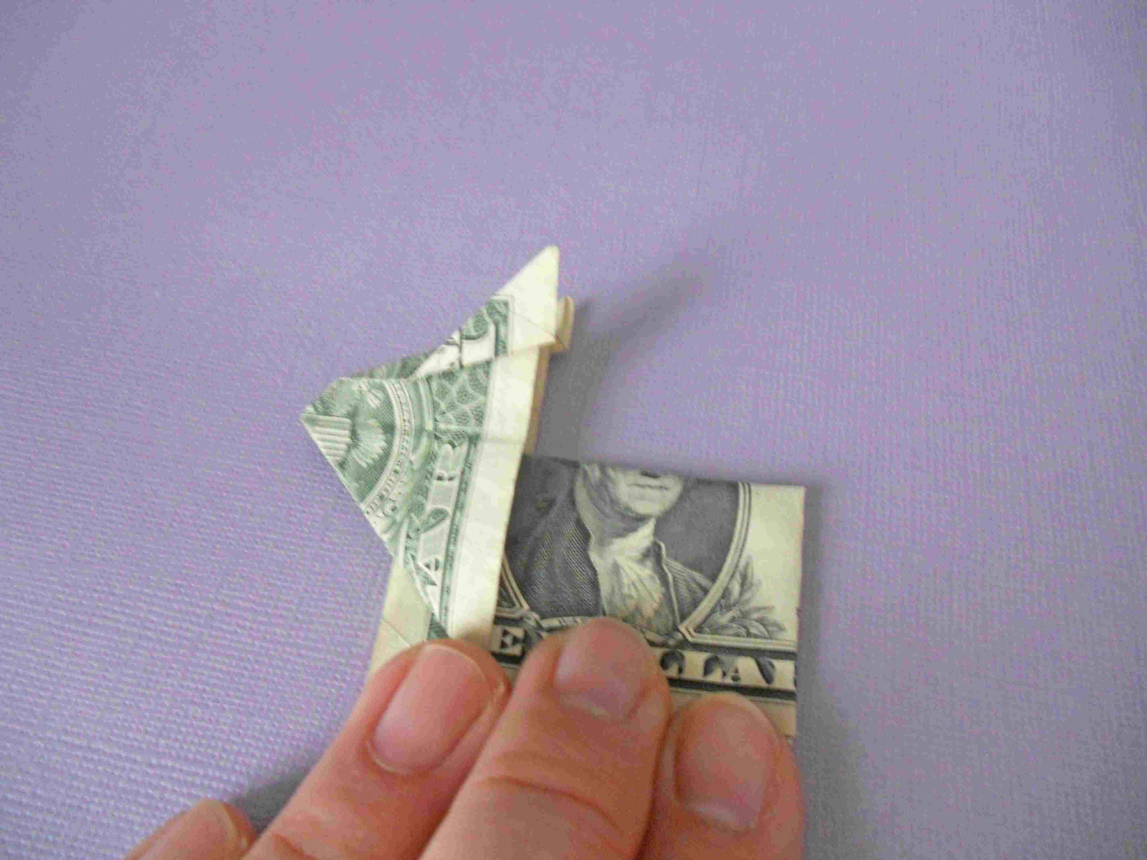 Money Origami Bunny
