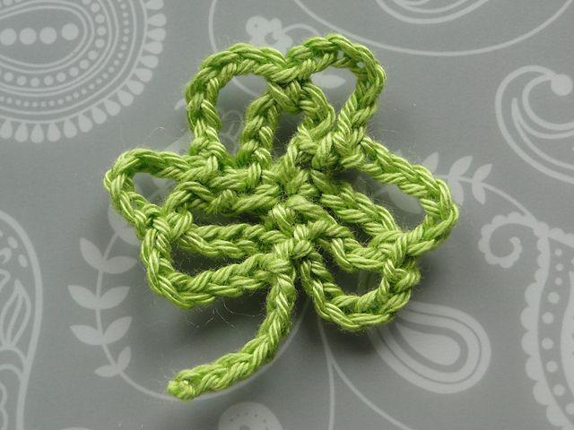 Lacy Clover Free Crochet Pattern