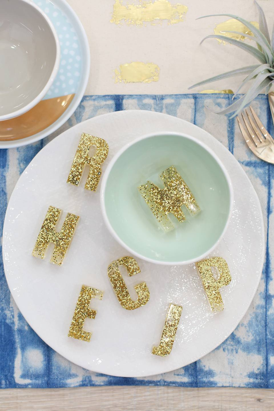 Resin Letters place card