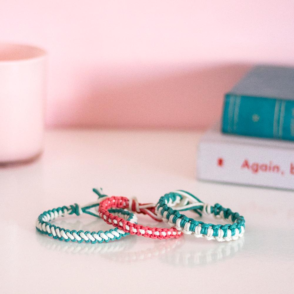 macrame bracelet idea