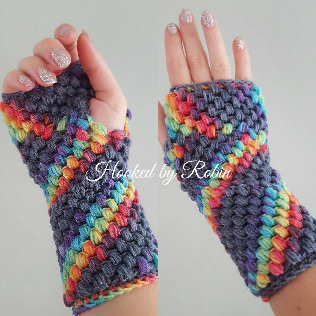 10 Free Crochet Fingerless Gloves Patterns