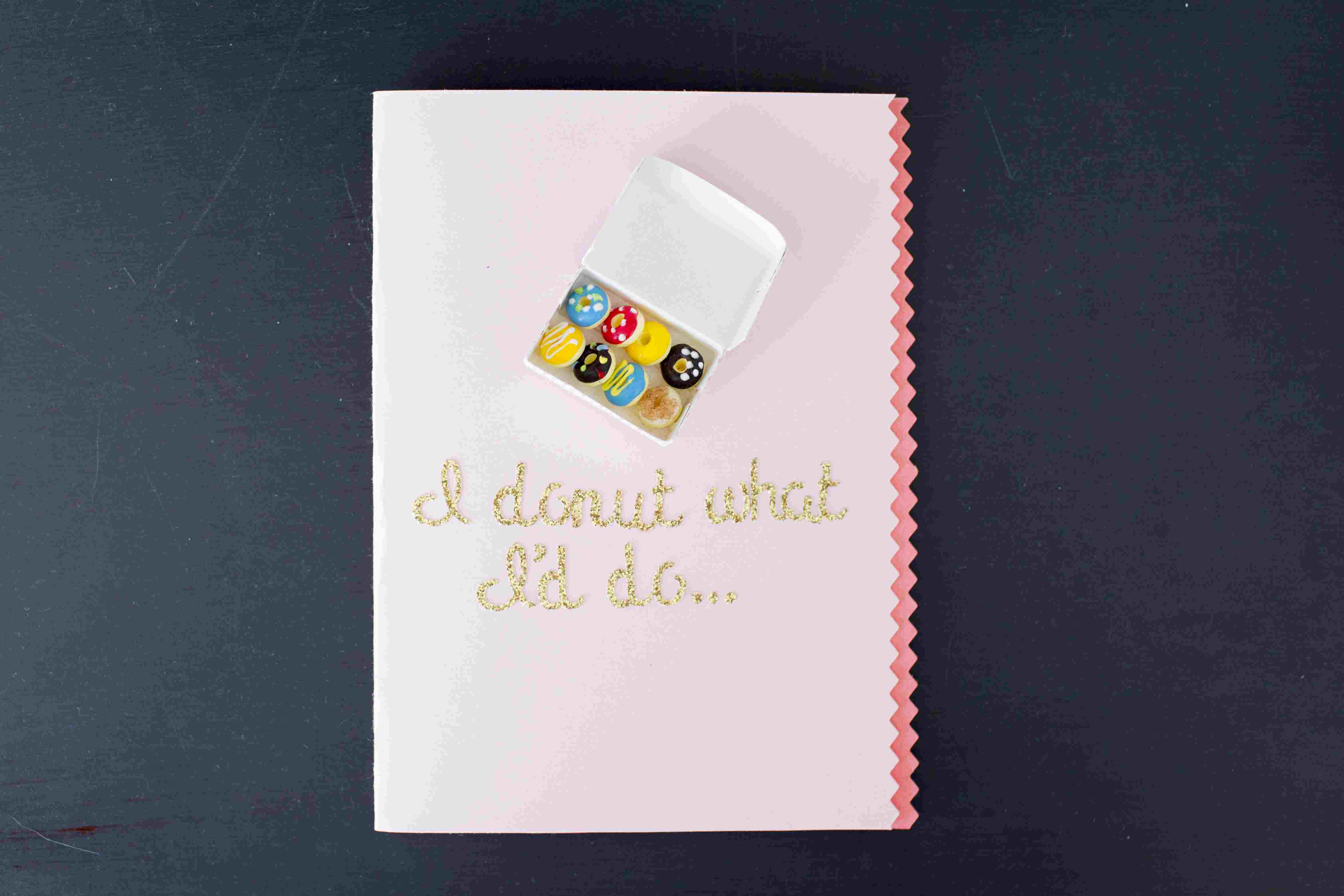 I Donut What I'd Do Without You Mother's Day card image