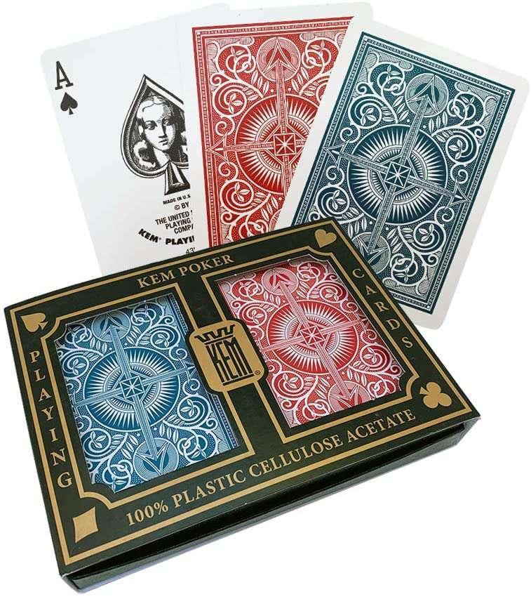 KEM Poker Arrow Playing Cards
