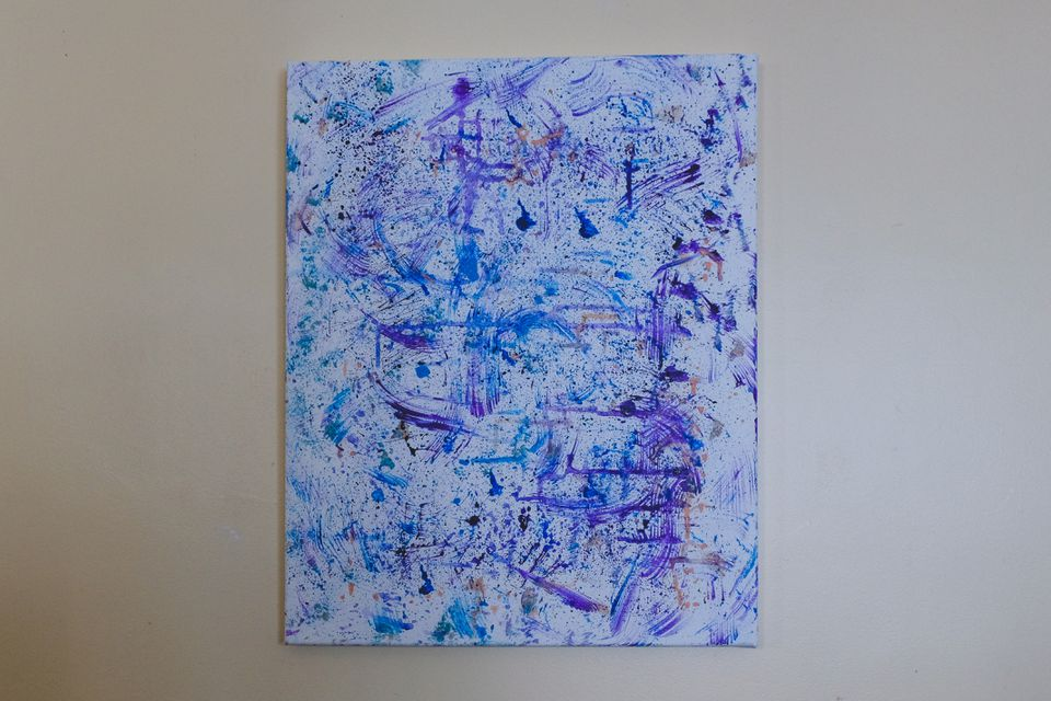 diy splatter painting