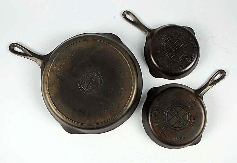 Griswold cast iron skillets
