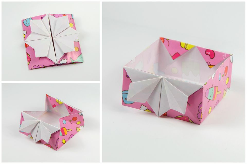 How To Make A Japanese Origami Invitation Box