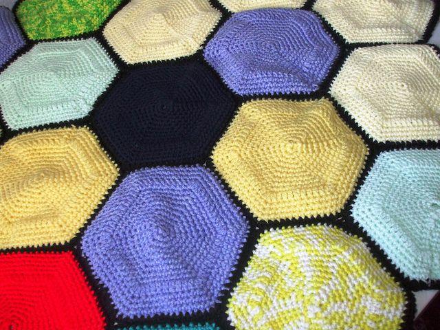 Free Hexagon Crochet Patterns