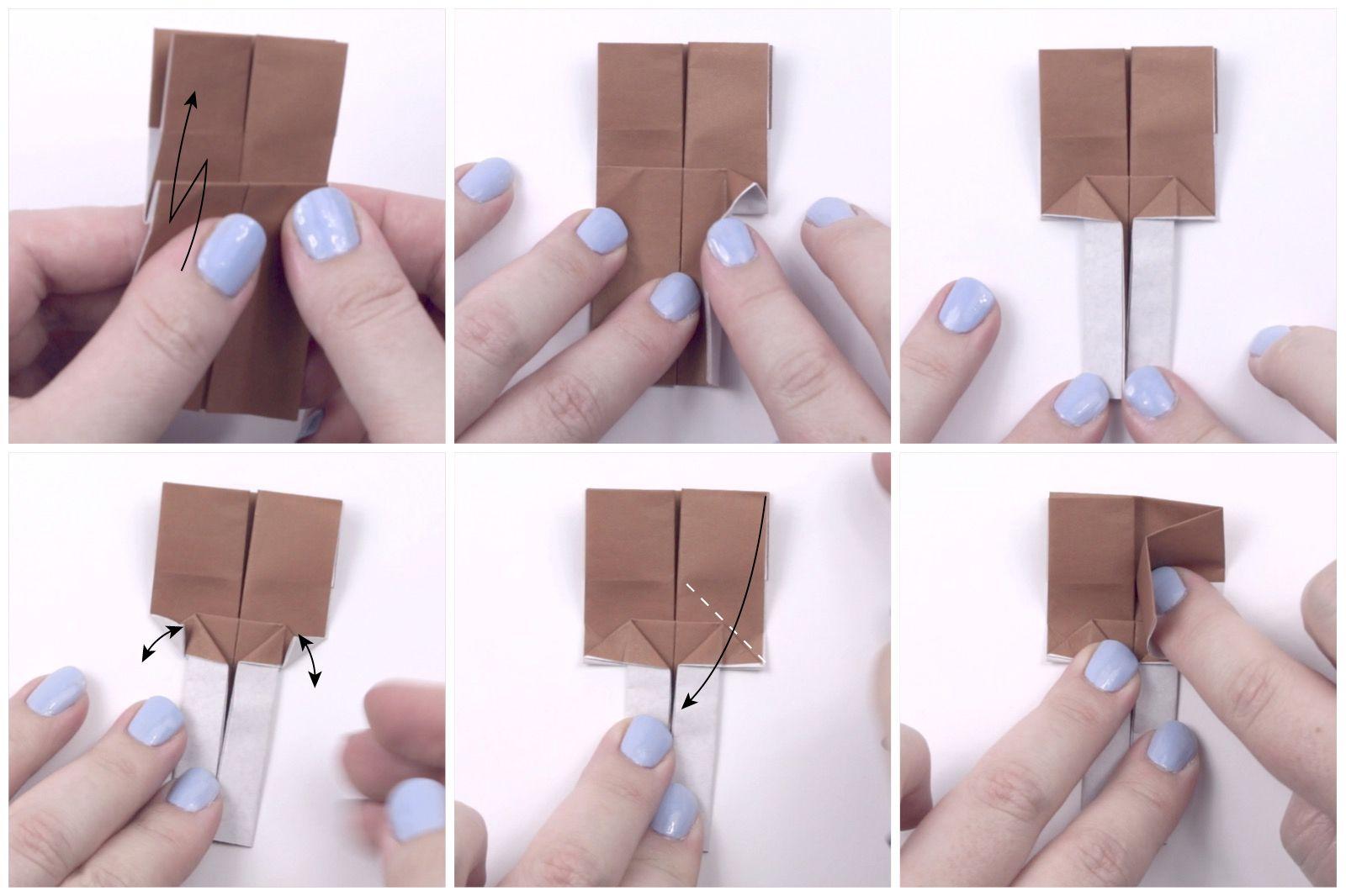 japanese origami doll tutorial 11