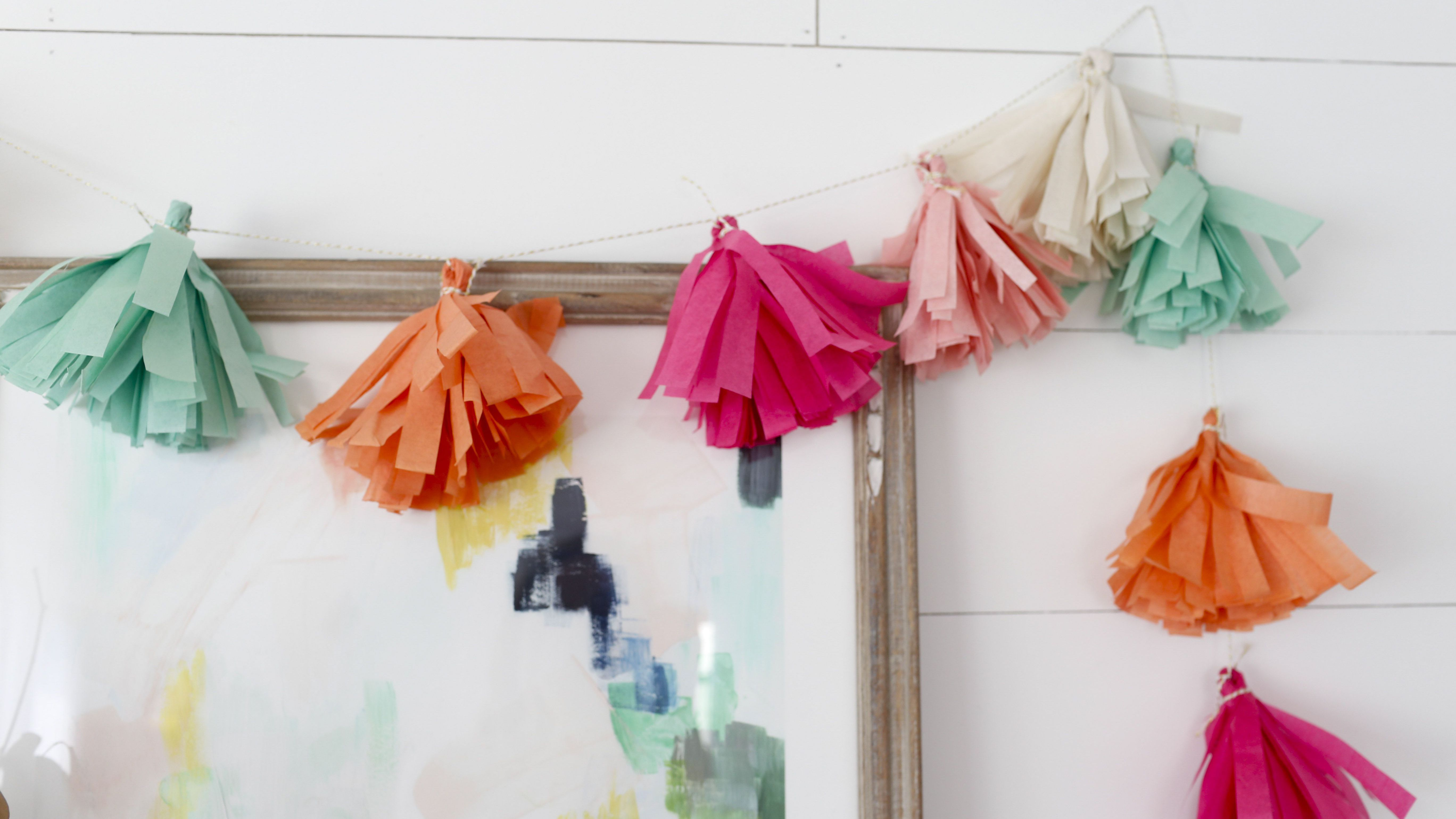 Diy Tassel Garland For Any Celebration