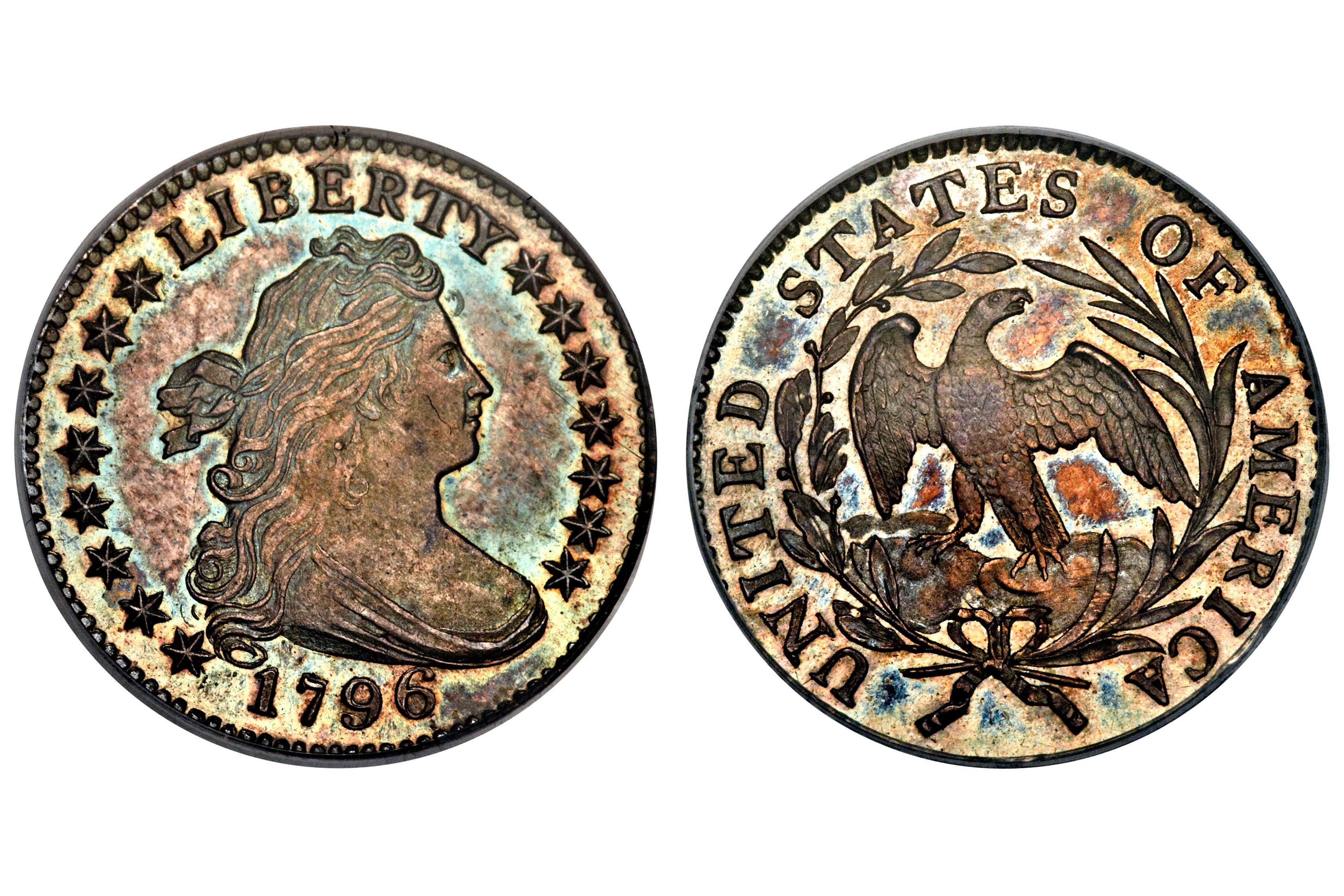 1796 Draped Bust Dime