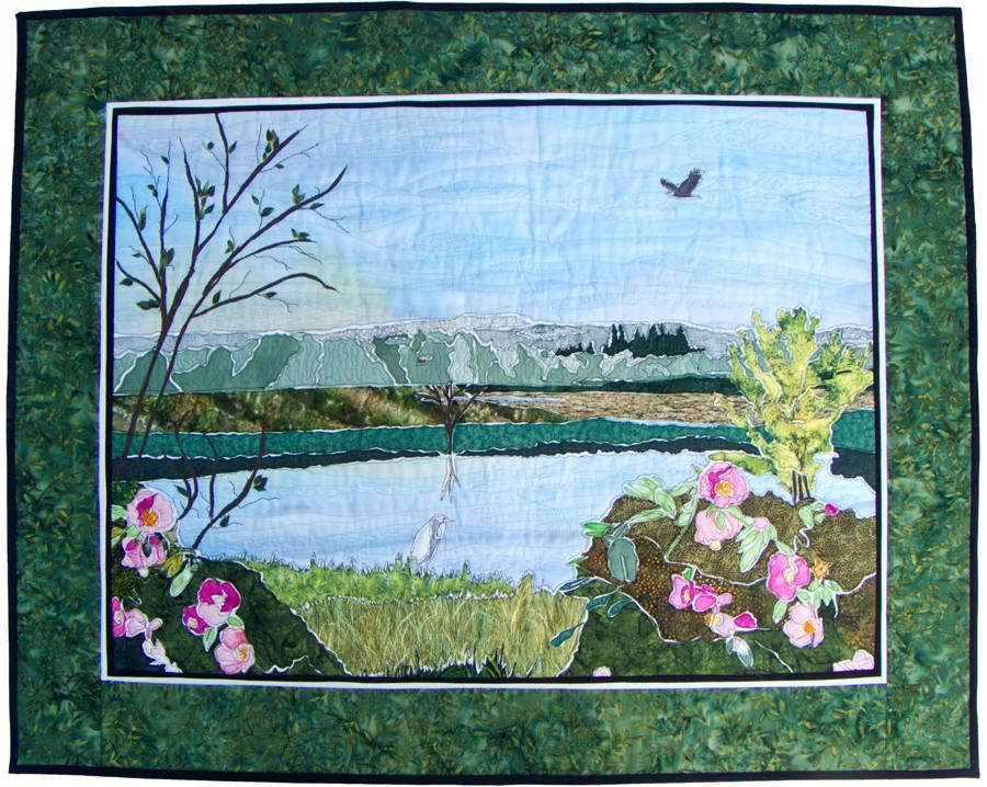 Tualatin Valley Landscape Quilt