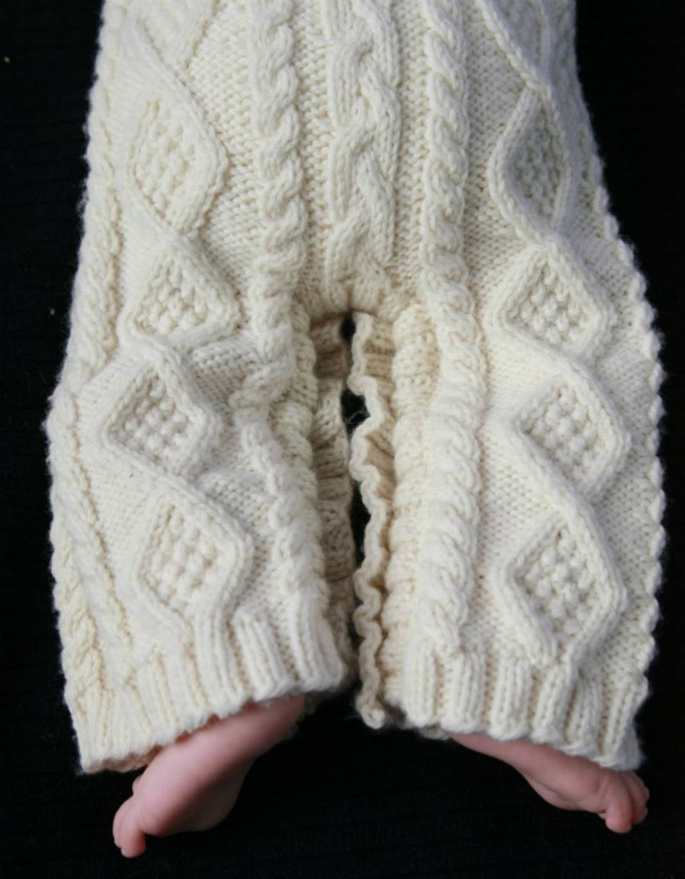 Baby Aran Body Suit
