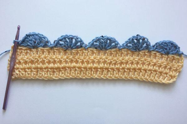 Crochet Shell Edging