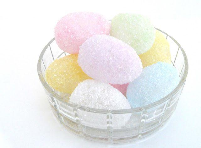 DIY Translucent Epsom Salt Easter Eggs
