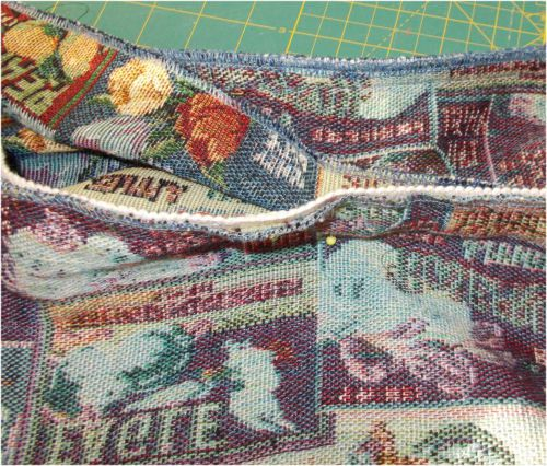 Leaving an opeing to turn the cover right side out saves you using the seam ripper.