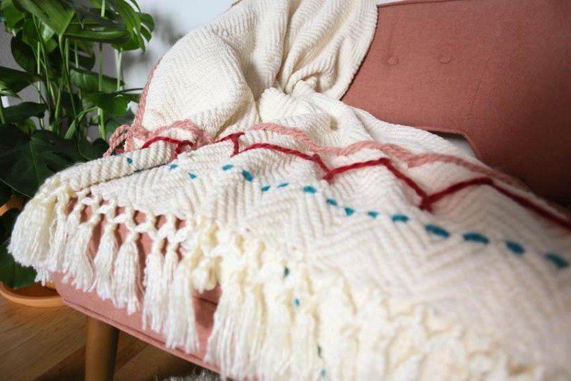 handmade embroidery blanket