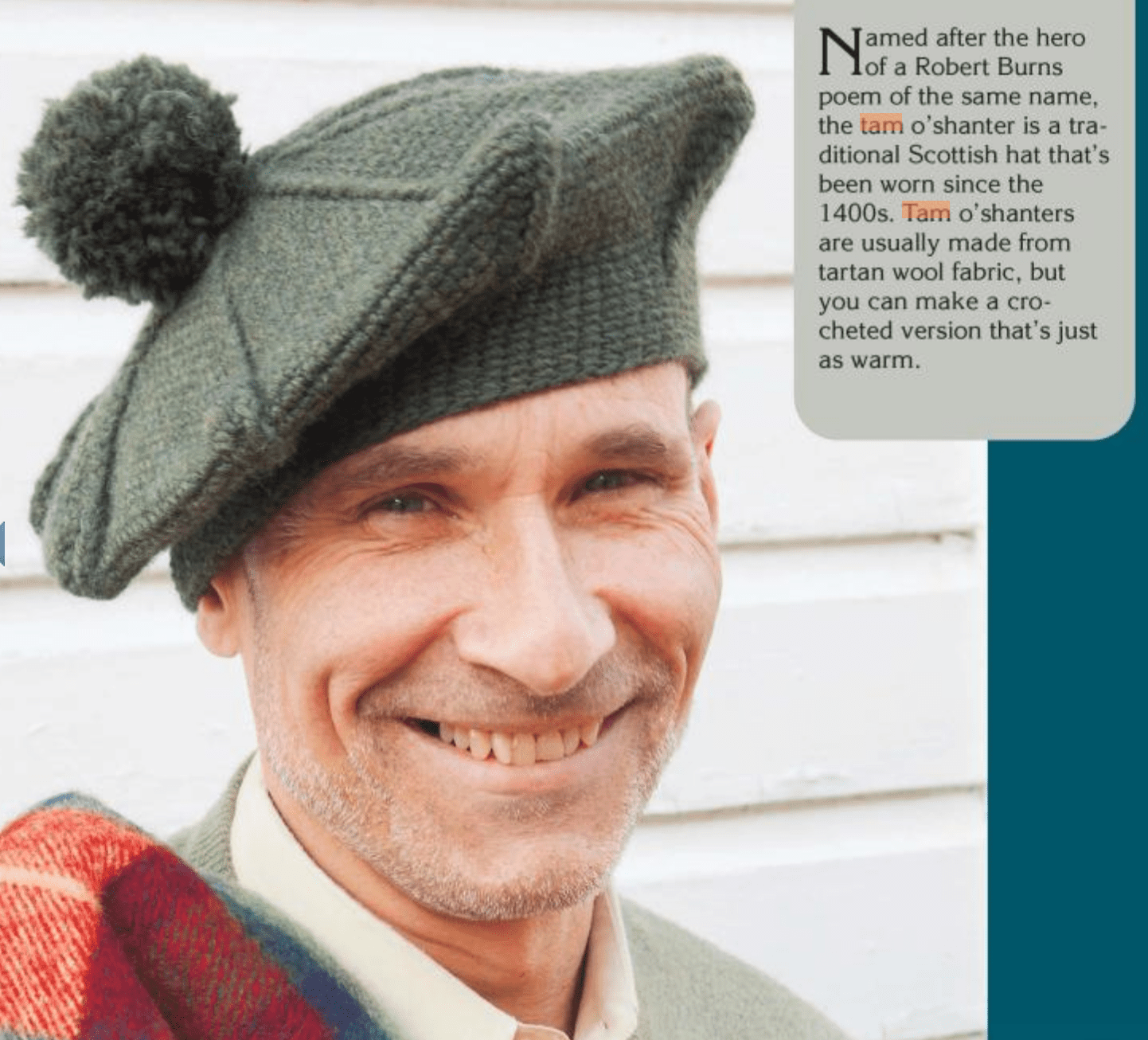 3 Vintage Inspired Mens Crochet Hat Patterns
