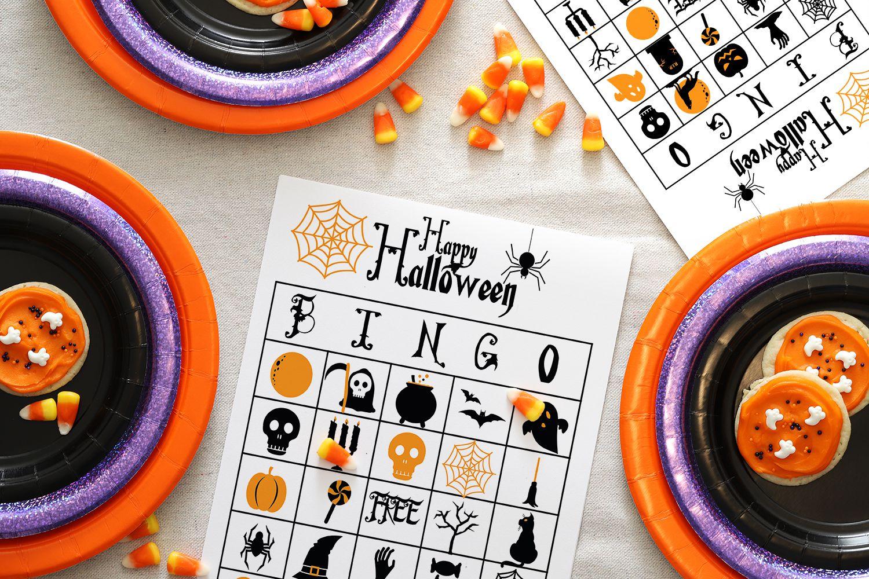 13 Sets of Free, Printable Halloween Bingo Cards