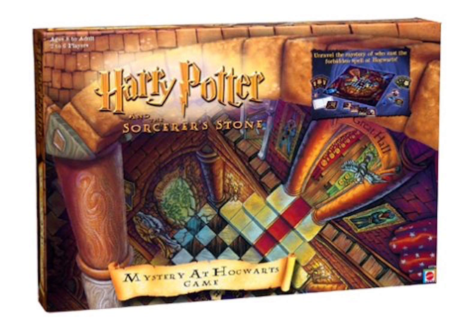 Mystery at Hogwarts game