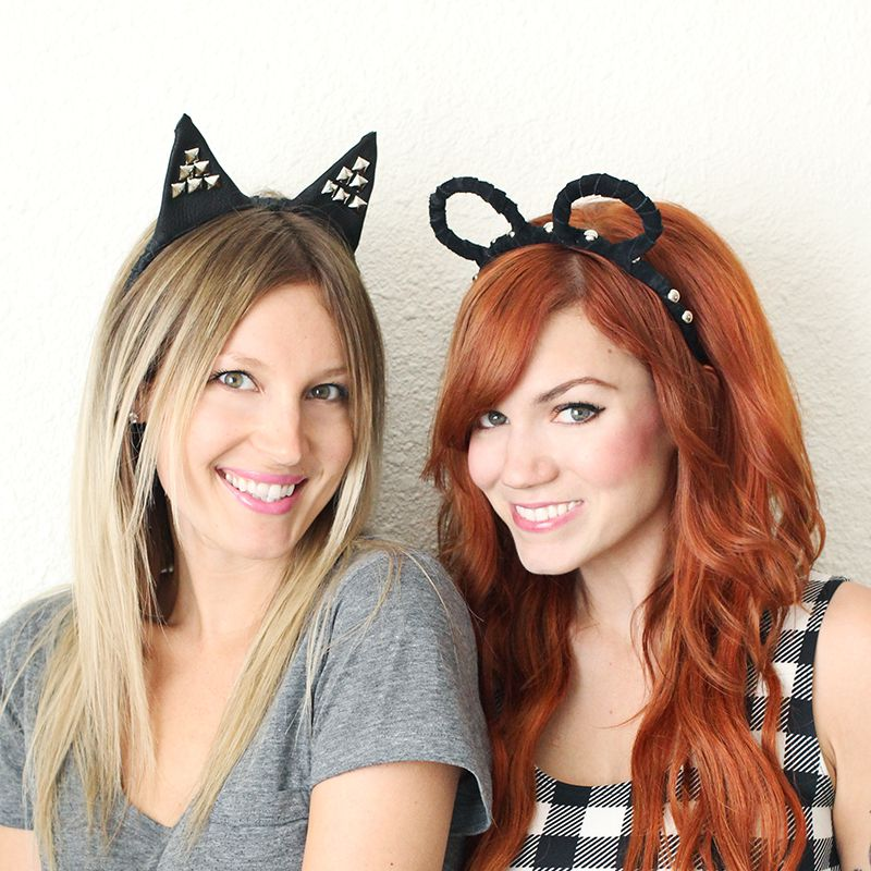 DIY Cat and Mouse Costumes