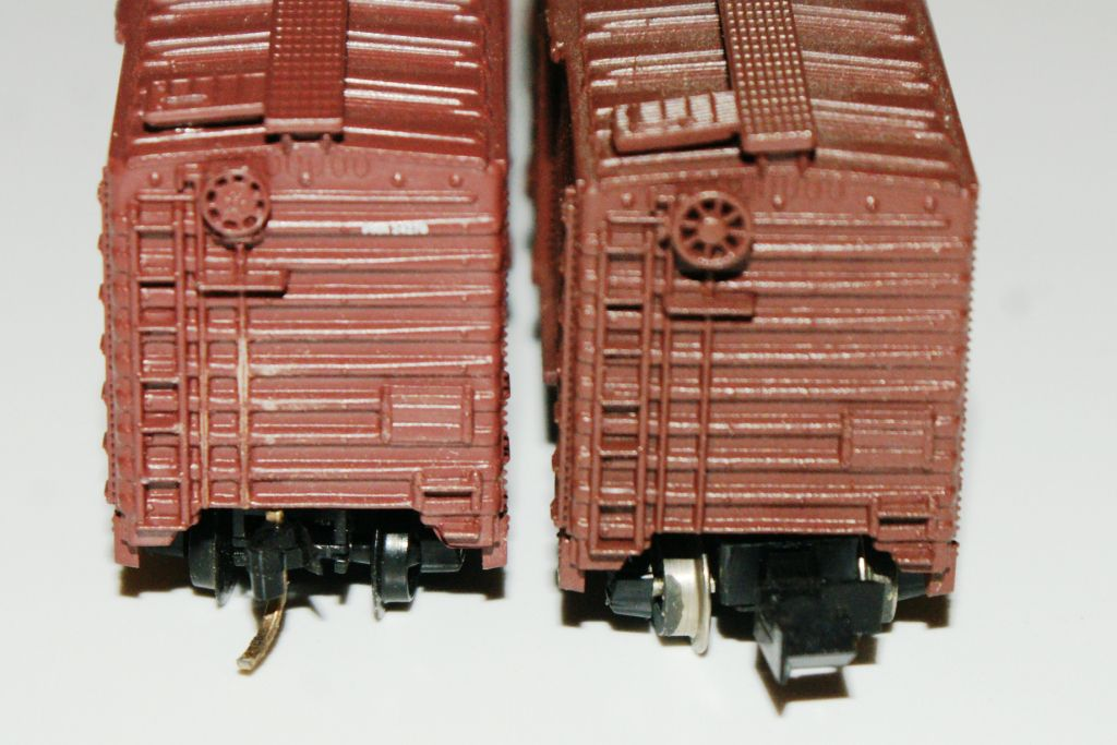 N scale couplers