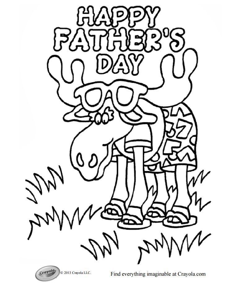 Free Printable Father S Day Coloring Pages