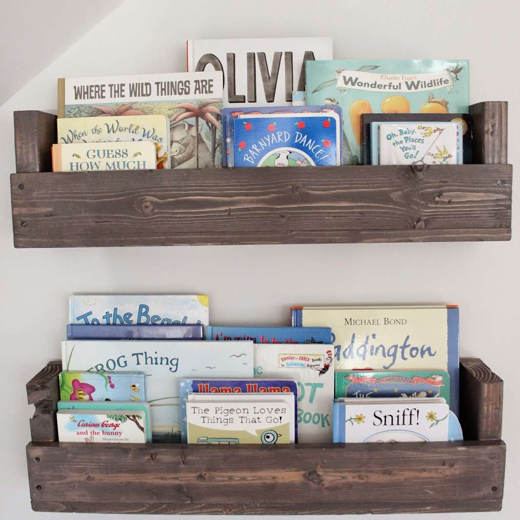 Small room DIY ideas for kid's books