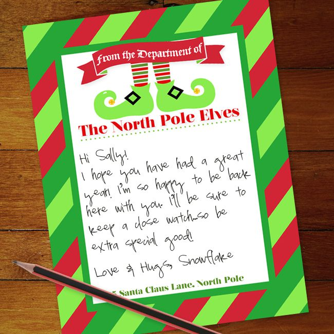 letter to santa writing paper