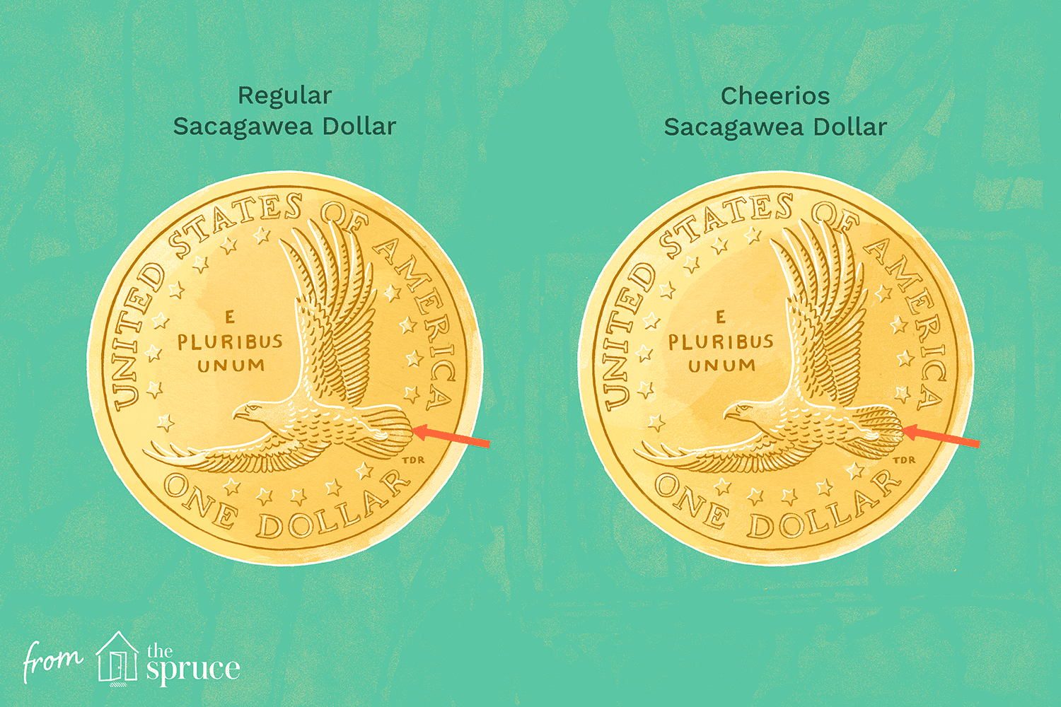 Rare Cheerios Dollar Coin