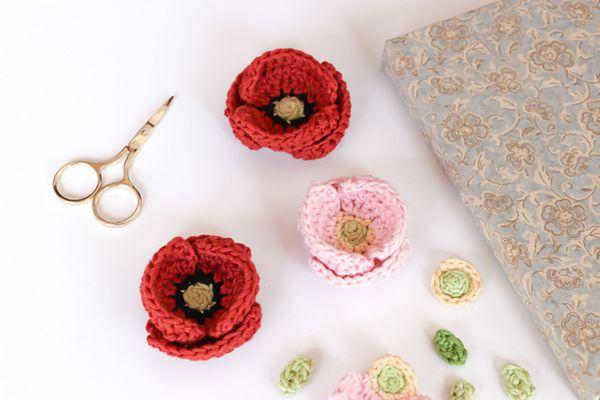 Free Crochet Poppy Pattern