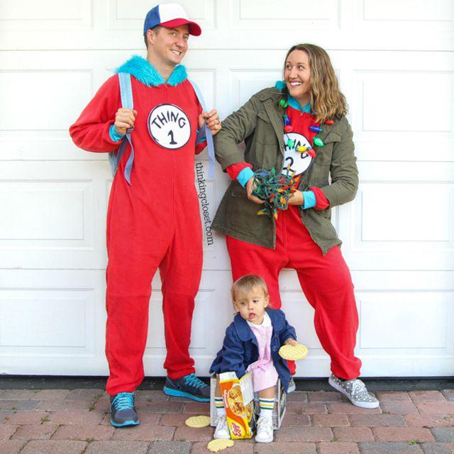"""Stranger """"Things"""" family halloween costume"""