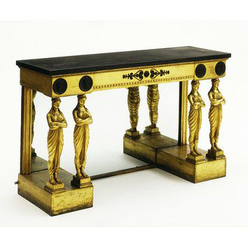 Greek Revival pier table by Thomas Hope, c. 1800