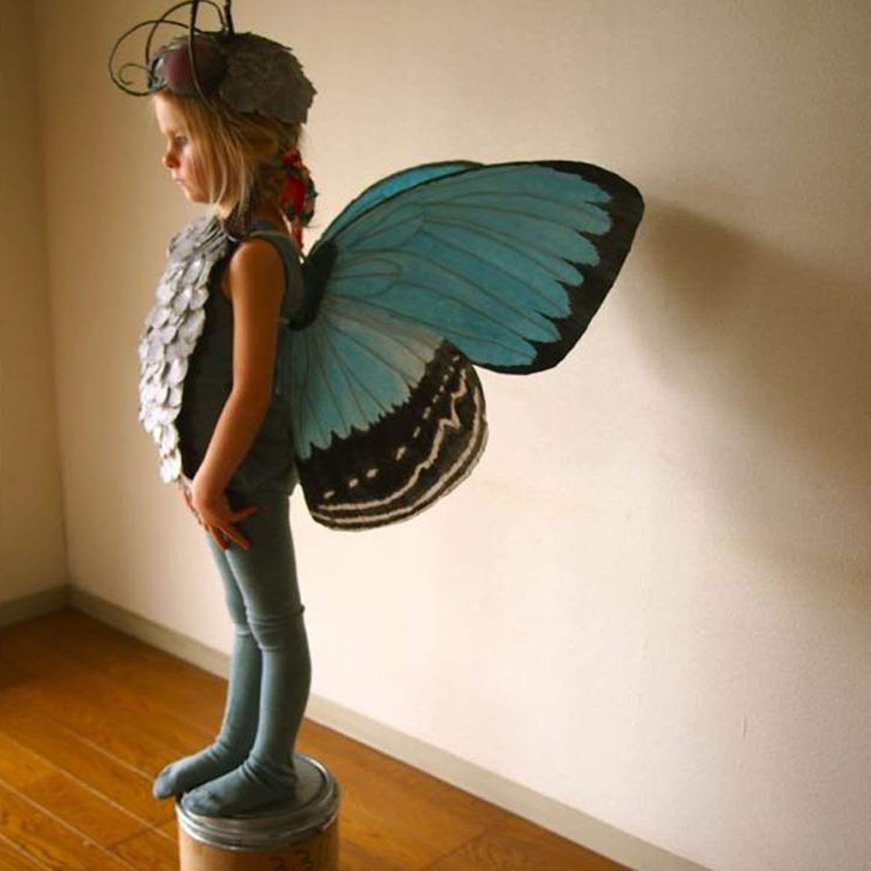 cardboard butterfly wings