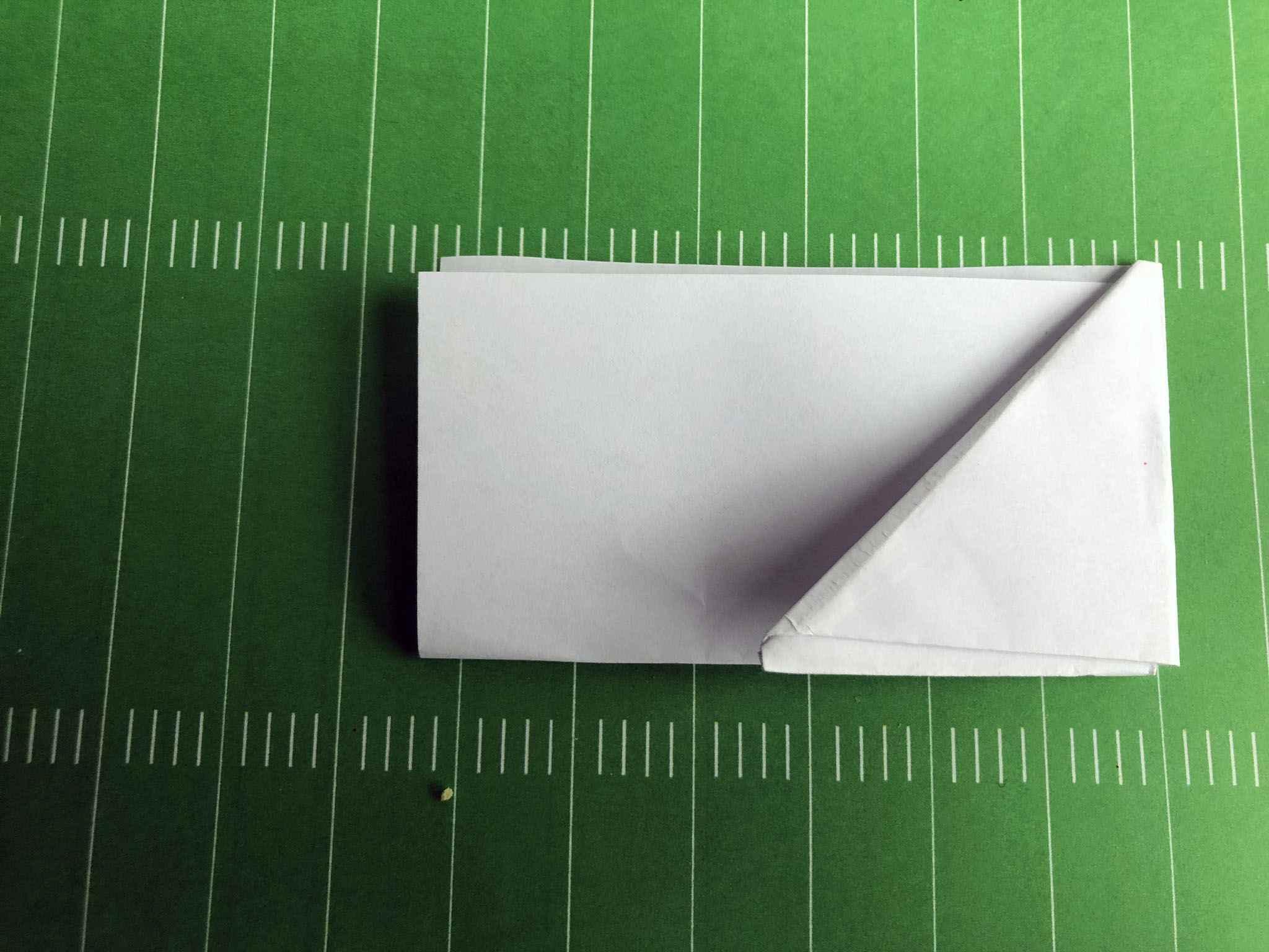paper football fold 6