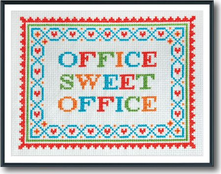 60 Work And Office Inspired Cross Stitch Patterns Unique Stitch Patterns