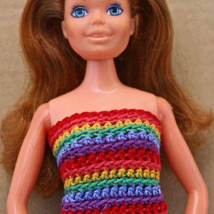 10 Fun Free Crochet Barbie Doll Patterns