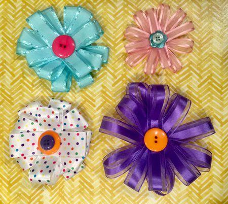 13 ways to craft with ribbon ribbon flowers mightylinksfo