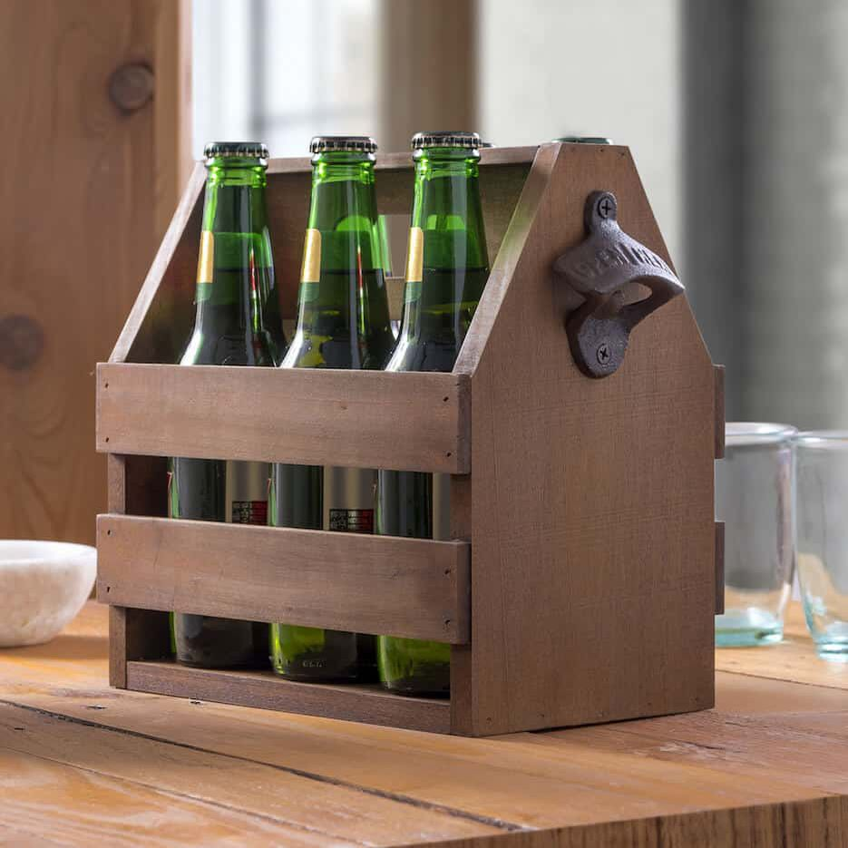 How to Make A Wooden Beer Caddy (In Six Steps)